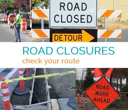 Road Work and Closures