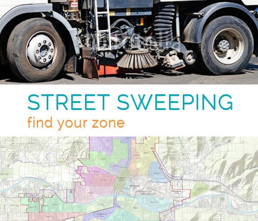 Street Sweeping Schedule Find Your Zone