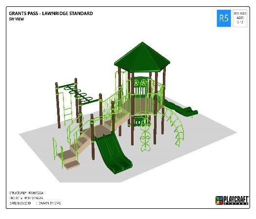 Proposed New Playground Structure Lawnridge Park