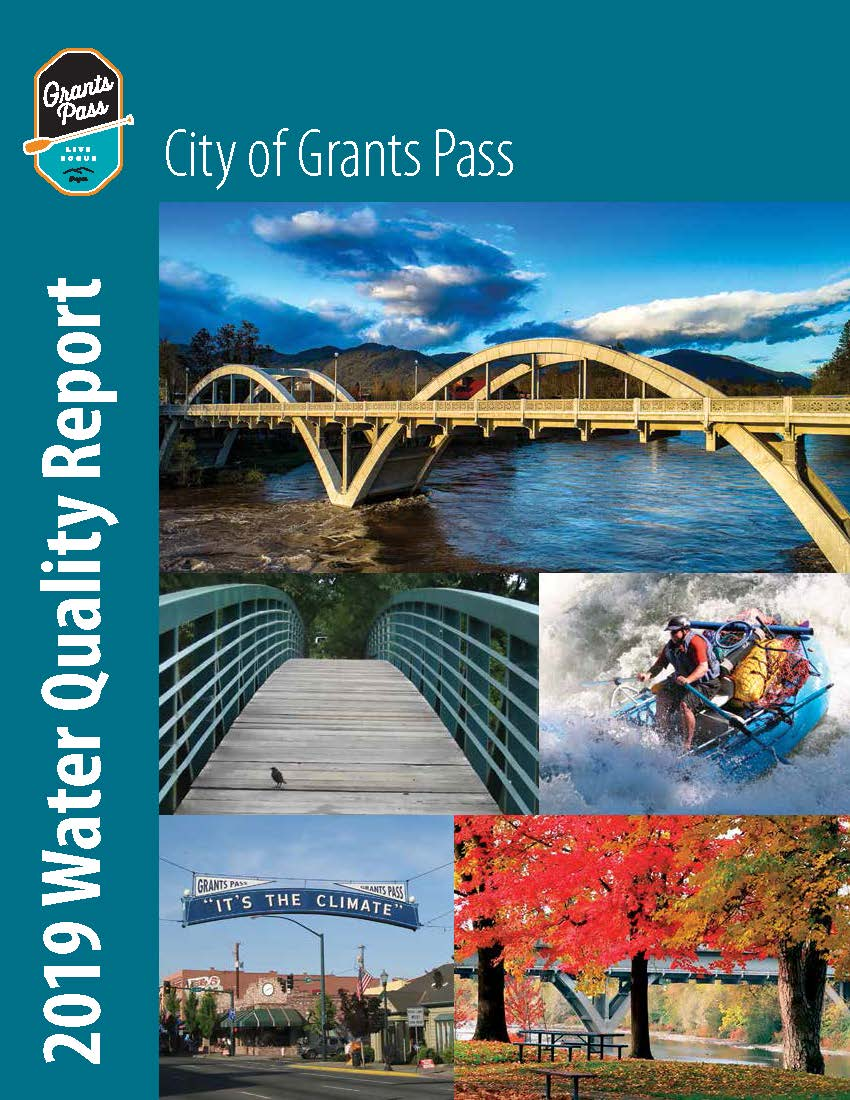 water quality report 2020 Cover
