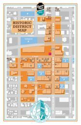 Historic District Map Brochure cover